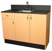 """Collins 3373-48 Organizer 48"""" Sink Cabinet with Sink"""