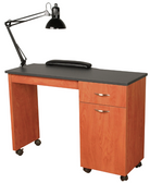 Collins 3344-42 Cameo Manicure Nail Table