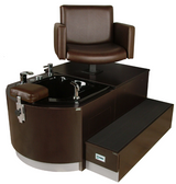 Collins 4436S Cigno Stainless Pedicure Spa Unit