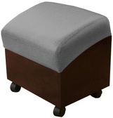 Collins 2415 Shampoo Shuttle Ottoman with Casters