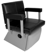 Collins 6750L Quarta Lever Control Shampoo Chair with Kickout Legrest