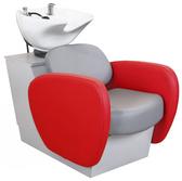 Collins 72BWS ATL Backwash Shampoo Shuttle with Tilting Porcelain Bowl