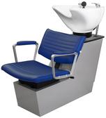 Collins 78BWS Aluma Backwash Shampoo Shuttle with Tilting Porcelain Bowl