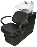 Collins 86BWS Corivas Backwash Shampoo Shuttle with Tilting Porcelain Bowl
