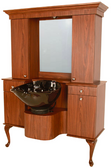 Collins 879-54-4 Bradford Wet Booth Station with Tilting Bowl