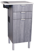 Collins 6642-21 Zada Stainless Styling Station Vanity