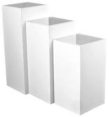 Collins 6646-16 Zada Retail Pedestals