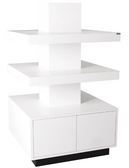 Collins 6647-32 Zada Free Standing Stacked Retail Display