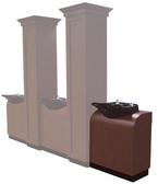 Collins 897-28 Bradford Backwash Shampoo Cabinet
