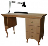 Collins 886-48 Bradford Manicure Nail Table