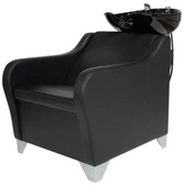 Savvy 283 Malia Shampoo Shuttle with Legrest with Tilting Porcelain Bowl