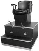 Collins 9040 QSE Continental Shoe Shine Station