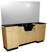 Collins 878-72 Classic Barber Wet Booth Station
