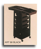 Pibbs ART88 Roll-A-Way Organizer Black