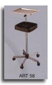 Pibbs ART58 Mayo Utility Tray Metal with Adjustable Shelf