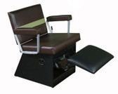 Collins 9850L Taress Lever Control Shampoo Chair with Kickout Legrest