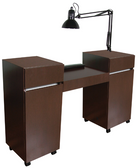 Collins 484-57 Reve Twin Manicure Table