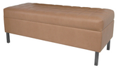 Collins 956-50 Enova Waiting Area Bench Without Lumbar Back Support