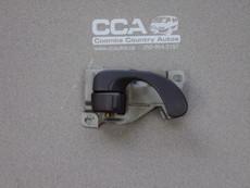 Right front door interior release handle (grey) Used