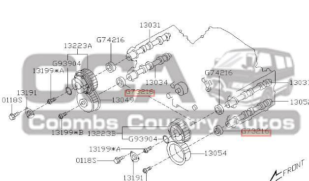 Subaru Engine Oil Seal 806732160