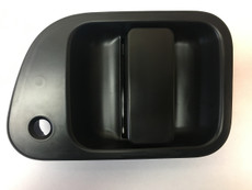 L400 Sliding Door Handle Unpainted Black