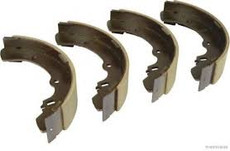 L300 rear brake shoes (Genuine Mitsubishi)