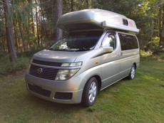 Nissan Elgrand Camper E51-0246