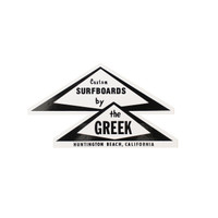 Greek Triangle Sticker