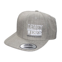 Dewey Weber Block Hat - Heather Grey