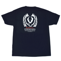 David Nuuhiwa Eagle T-Shirt - Navy
