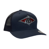 Bear Mesh Back Hat - Navy