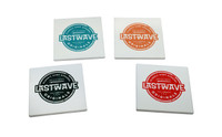 Last Wave Originals Circle Logo Coaster Set