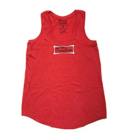 Dewey Weber Ladies Classic Tank Top - Heather Red