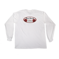 Donald Takayama Long Sleeve - White/Red