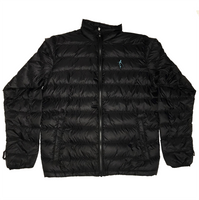 Last Wave Puffer Jacket - Black