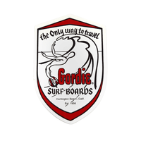 Gordie Surfboards Sticker