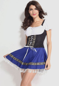 Plus Size Serving Wench Costume