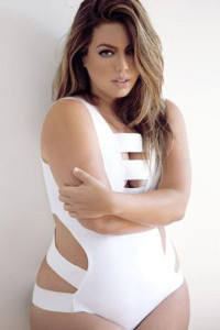 White Sexy Bandage Cutout One-piece Swimsuit