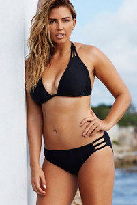 Swim Sexy Black Triangle String Bikini