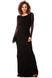 Keep It Classy Black Jersey Maxi Dress