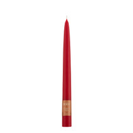 "9"" Dipped Taper Candle Red Single Candle"