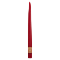 "12"" Dipped Taper Candle Red Single Candle"
