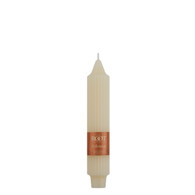 "7"" Grecian Collenette Ivory Single Candle"