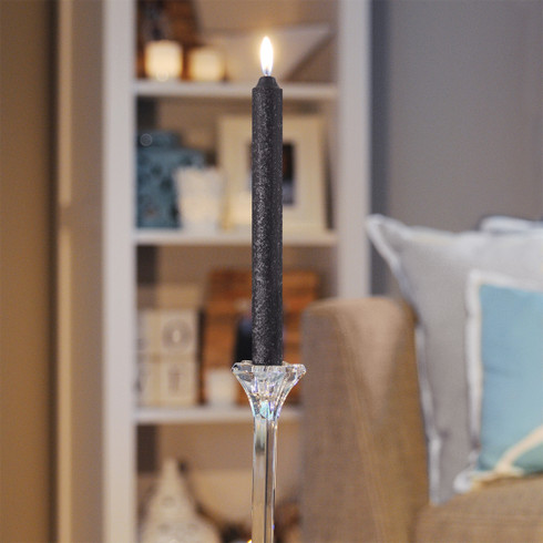 """Our 9"""" Timberline Arista Dinner Candle has a 7/8"""" diameter from top to bottom, to fit into any fine dinner candle holder. Root Candles' Timberline Aristas burn an impressive 1-1/2 hours per inch."""