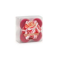 Candy Cane - Peppermint, sweet vanilla, soft notes of caramelized sugar and a touch of balsam create a unique candy cane mystique.