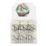 French Vanilla 20 Hour Beeswax Blend Box of 18 Votives