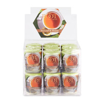 Tea Leaf & Honey 20 Hour Beeswax Blend Box of 18 Votives