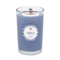Seeking Balance® 8 oz Medium Spa Candle Tonka and Cedarwood Reflect