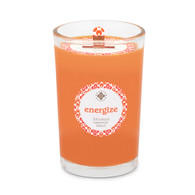 Seeking Balance® 8 oz Medium Spa Candle Rosemary Eucalyptus Energize