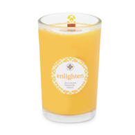 Seeking Balance® 8 oz Medium Spa Candle Cedar Verbena Enlighten